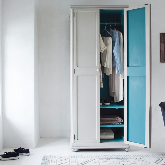 408390 grand popinjay colourful narrow wardrobe