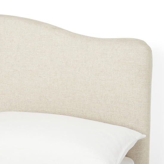 Luna upholstered bed headboard