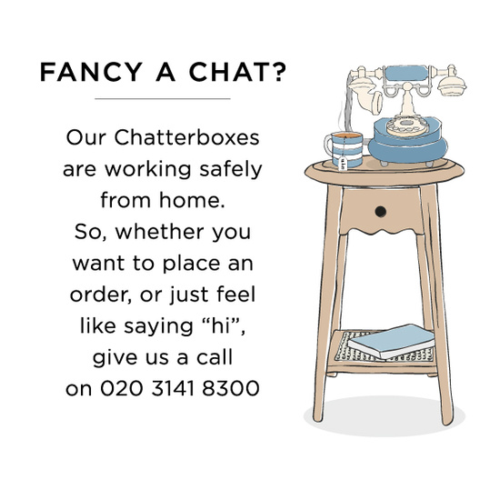 Fancy a chat?