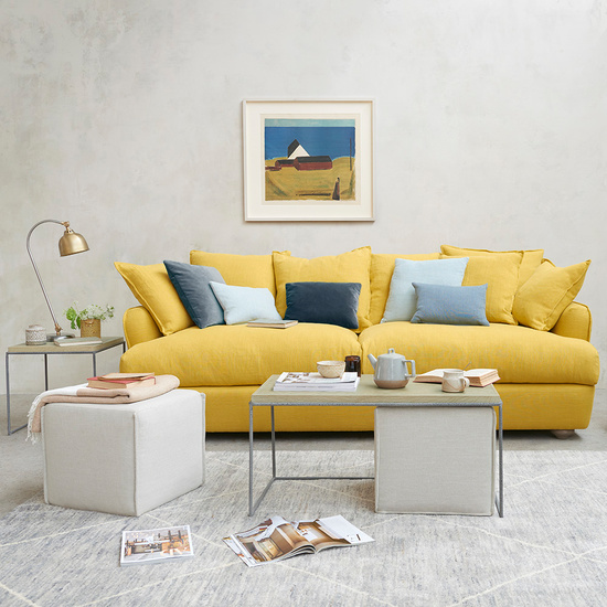 Smooch comfy scatter back sofa