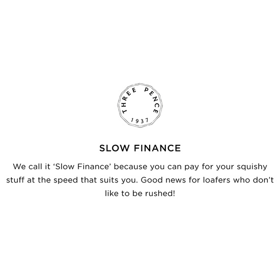 SLOW FINANCE BANNER MOBILE