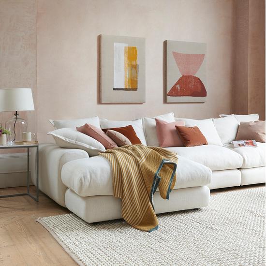 Wodge modular chaise sofa