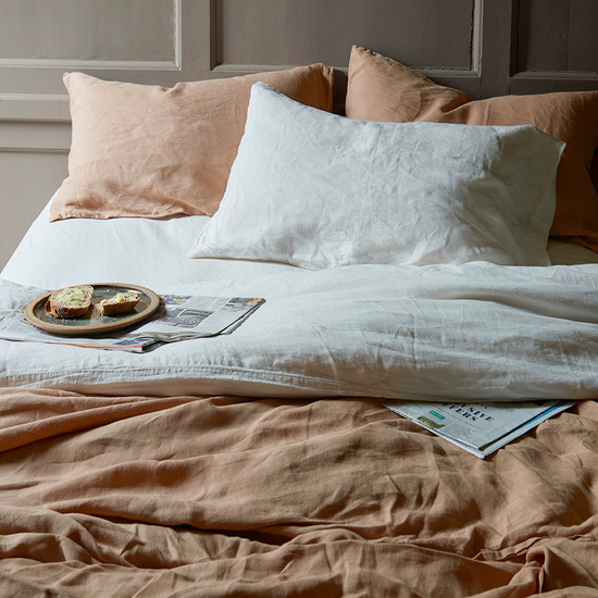 Lazy Linen - 100% piece-dyed Belgian bed linen