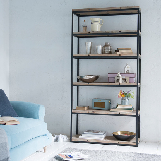 High Five reclaimed wood shelf