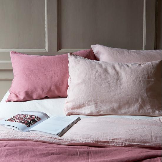 Lazy linen bedding
