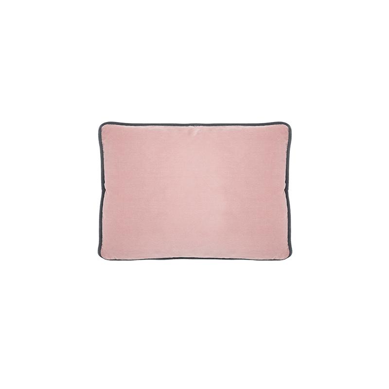 Stretch Pipelet in Chalky pink vintage velvet