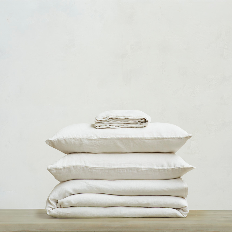 Lazy Linen in Vintage White