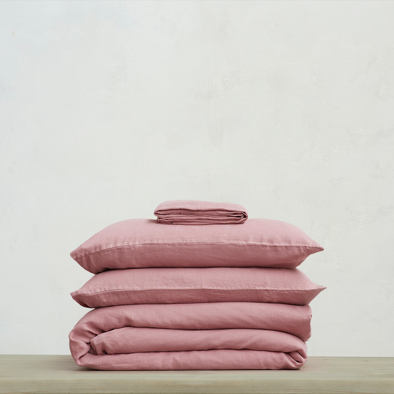 Lazy Linen in Old Rose