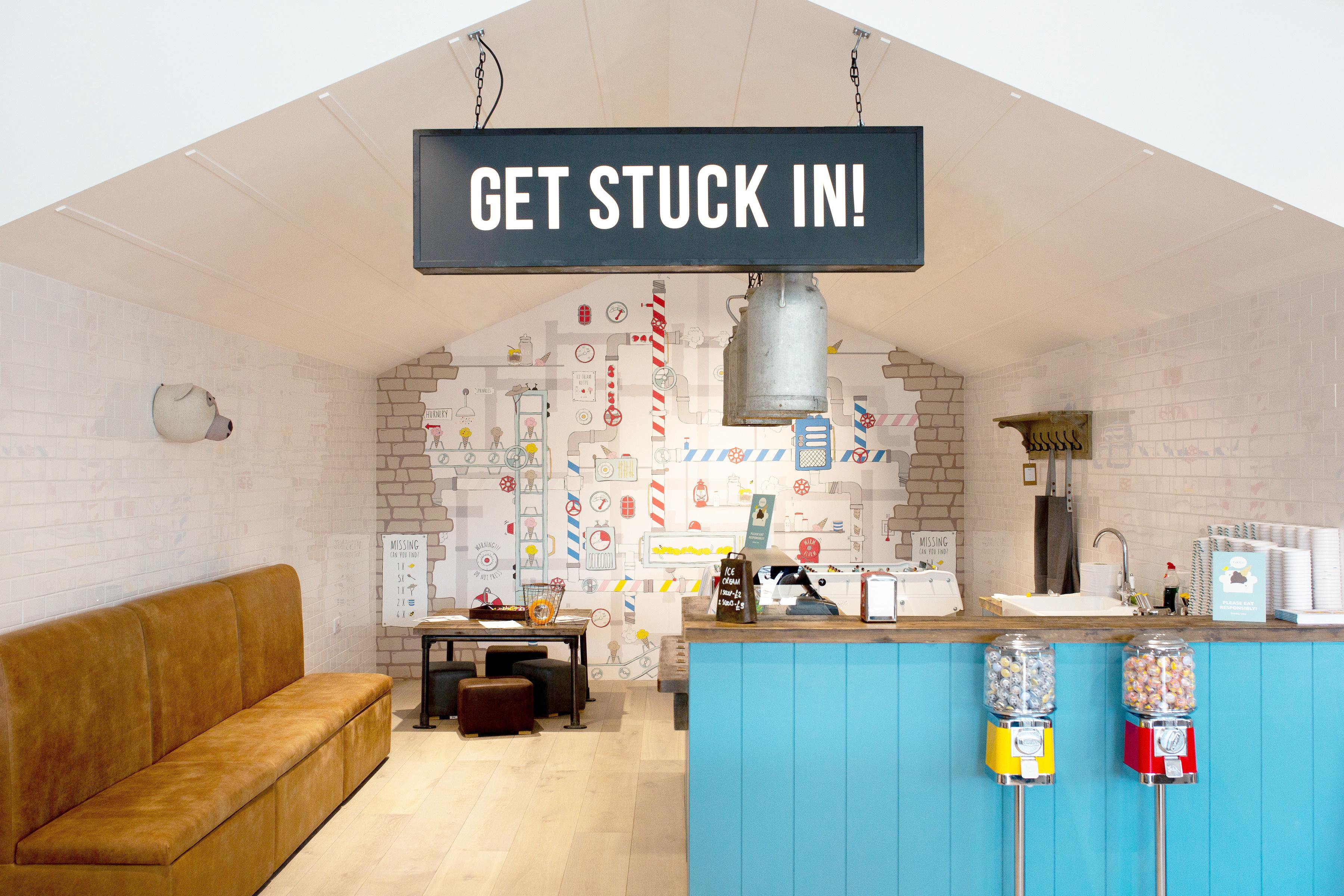 Get stuck in